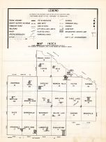 Index Map, Redwood County 1953