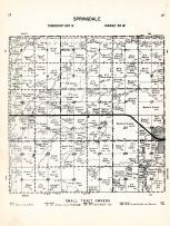 Springdale Township, Walnut Grove, Redwood County 1953
