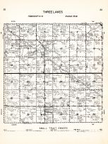 Three Lakes Township, Clements, Redwood County 1953