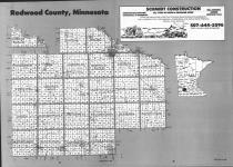 Index Map, Redwood County 1992