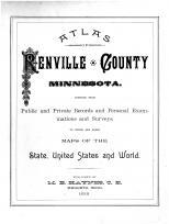 Title Page, Renville County 1888