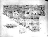 Renville County Outline Map, Renville County 1900