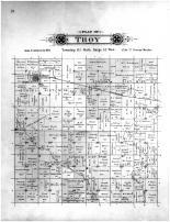 Troy Township, Miles PO, Renville County 1900