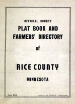 Cover Page, Rice County 194x