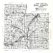 Rice County Highway Map, Rice County 194x