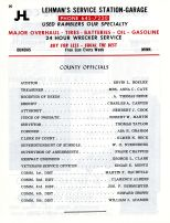 Directory 020, Rice County 1964 - 1965