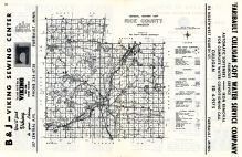 Rice County Highway Map, Rice County 1964 - 1965