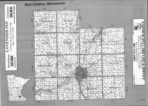 Index Map, Rice County 1992