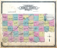 County Outline, Roseau County 1913