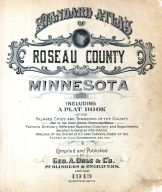 Title Page, Roseau County 1913