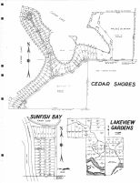 Cedar Shores, Sunfish Bay, Lakeview Gardens, Scott County 1963