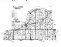 County Map, Scott County 1963