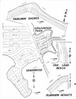 Fairlawn Shores, Grainwood Park, Oak Land Beach, Grainwood, Plainview Heights, Scott County 1963