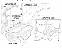 Northwood, Meadow Lawn, Chatonka Beach, Conroys Bay, Twin Isles, Scott County 1963