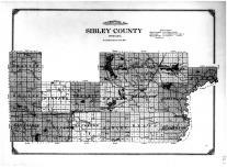 Sibley County Topographical Map, Sibley County 1914