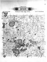 Avon, Pelican Lake, Lower Spunk Lake, Upper or Big Spunk lake, Middle Spunk, Stearns County 1896
