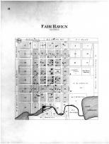 Fair Haven, Lake Carloine, Stearns County 1896