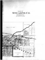 Paynesville, New Paynesville - Right, Stearns County 1896