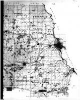 Stearns County Outline Map - Right, Stearns County 1896