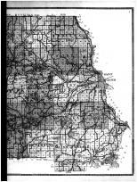 Stearns County Outline Map - Right, Stearns County 1912