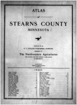 Title Page, Stearns County 1912
