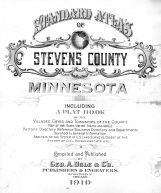 Title Page, Stevens County 1910