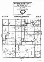 Camp Lake T122N-R38W, Swift County 1992
