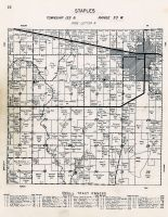 Staples Township, Todd County 1956