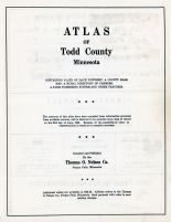 Title Page, Todd County 1956