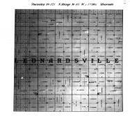 Leonardsville, Township No 1265 N Range No 45, Page 31, Traverse County 1902