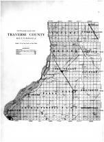 Outline Map, Traverse County 1915
