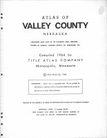 Title Page, Valley County 1964