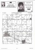 Aldrich Township, Verndale, Central, Crow Wing River, Directory Map, Wadena County 2007