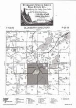 Blueberry Township, Twin Lakes, Menahga, Spirit Lake, Stocking Lake, Thomas Lake, Directory Map, Wadena County 2007