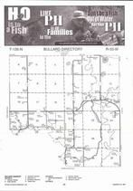 Bullard Township, Sand Lake, Wing River, Farnham Creek, Directory Map, Wadena County 2007