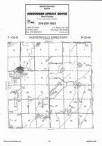 Huntersville Township, Duck Lake, Round Lake, Crow Wing River, Directory Map, Wadena County 2007