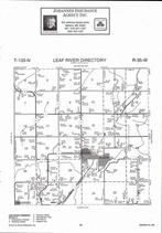 Leaf River Township, Wadena, Directory Map, Wadena County 2007