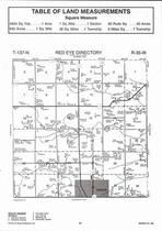 Red Eye Township, Sebeka, Cat River, Kitten Creek, Directory Map, Wadena County 2007