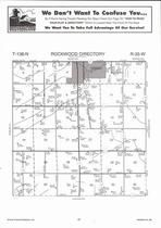 Rockwood Township, Sebeka, Hay Creek, Directory Map, Wadena County 2007