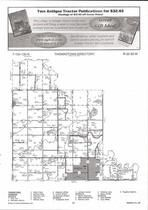 Thomaston Township, Central, Staples, Crow Wing River, Directory Map, Wadena County 2007