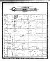 Vivian Township, Wheeler Lake, Waseca County 1896