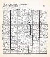 Freedom Township, Alma City, Waseca County 1947