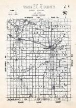 Waseca County Map, Waseca County 1947