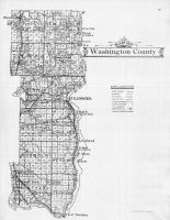 Washington County Map, Washington County 1911c