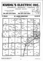 Map Image 001, Watonwan County 1992