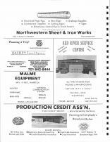 Northwestern Sheet & Iron Works, Bastien Travel Agency, Red River Service Center, Malme Equipment, Wilkin County 1979