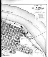 Winona City - Northeast - Right, Winona County 1894 Microfilm