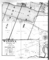 Winona City - Southeast - Left, Winona County 1894 Microfilm