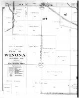 Winona City - Southwest - Left, Winona County 1894 Microfilm