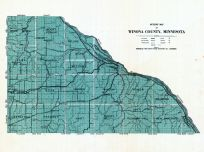 Outline Map, Winona County 1927